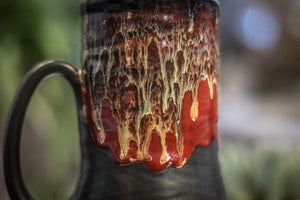 27-E Scarlet Cavern Textured Mug, 19 oz.