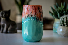 Load image into Gallery viewer, 04-D Coral Meadow Crystal Mug - MISFIT, 16 oz. - 10% off