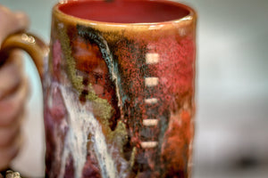 31-C Rainbow Grotto Textured Mug - MISFIT, 17 oz. - 35% off