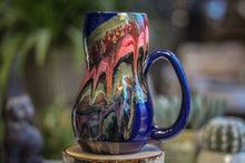 Load image into Gallery viewer, 04-A Molten Strata Gourd Mug - TOP SHELF, 23 oz.