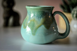 06-E Atlantean Jade Barely Flared Mug, 15 oz.
