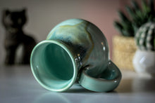 Load image into Gallery viewer, 06-E Atlantean Jade Barely Flared Mug, 15 oz.