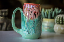 Load image into Gallery viewer, 07-D Coral Meadow Mug - MISFIT, 19 oz. - 10% off