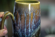 Load image into Gallery viewer, 06-E Mossy Wave Textured Mug, 19 oz.