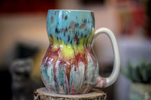 Load image into Gallery viewer, 09  Snowy Grotto Variation Gourd Mug - MINOR MISFIT, 20 oz.