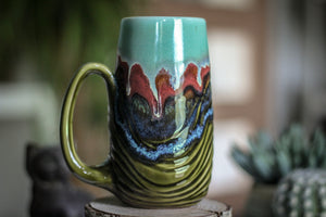 07-B Sonora Textured Mug - TOP SHELF, 21 oz.