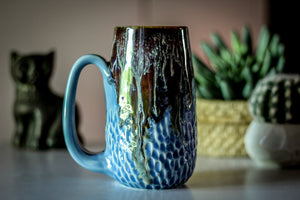 08-D New Wave Textured Mug, 18 oz.