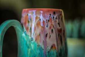 07-D Coral Meadow Mug - MISFIT, 19 oz. - 10% off