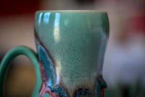 01-B Sonora Notched Gourd Mug - TOP SHELF, 18 oz.