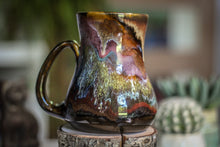 Load image into Gallery viewer, 07-C Rainbow Grotto Barely Flared Mug, 22 oz.