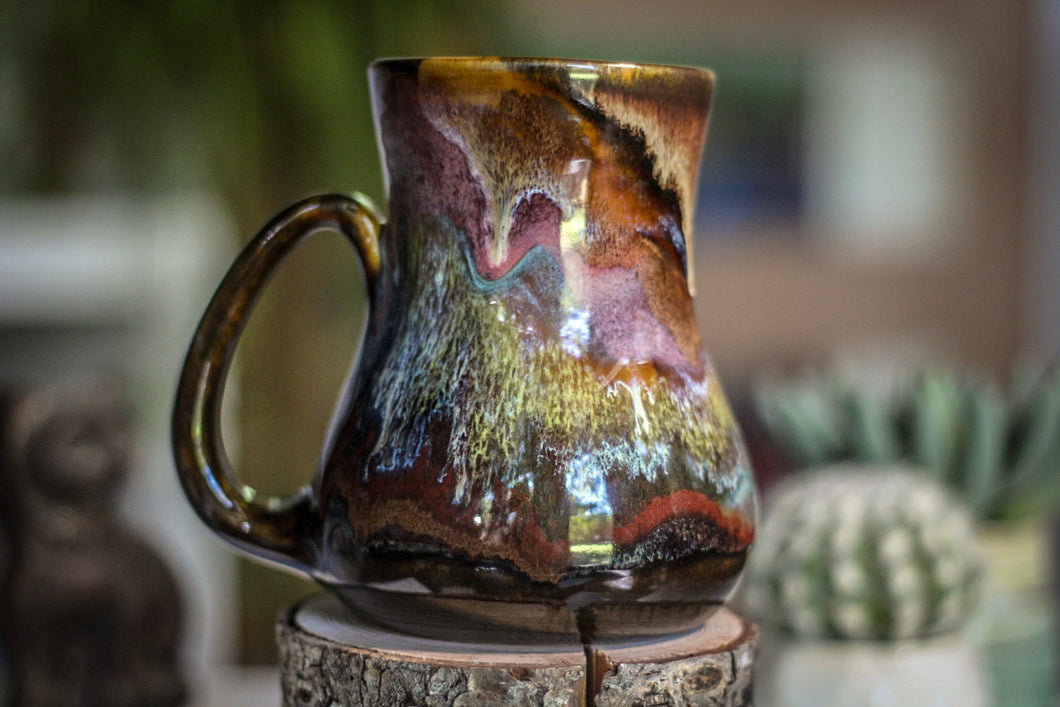 07-C Rainbow Grotto Barely Flared Mug, 22 oz.