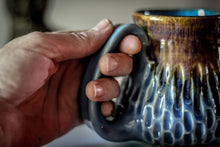 Load image into Gallery viewer, 08-E Arctic Wave Barely Flared Textured Mug, 14 oz.