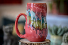 Load image into Gallery viewer, 07-C Coral Grotto Notched Gourd Mug, 17 oz.