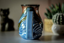 Load image into Gallery viewer, 10-B Copper Agate Barely Flared Textured Acorn Mug - TOP SHELF, 18 oz.