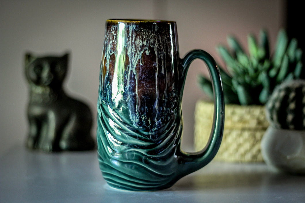 10-D New Wave Textured Mug - MISFIT, 16 oz. - 15% off