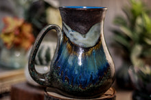 Load image into Gallery viewer, 18-B Copper Agate Barely Flared Mug - MISFIT, 21 oz. - 10% off