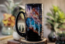 Load image into Gallery viewer, 38-A Cosmic Grotto Textured Stein, 16 oz