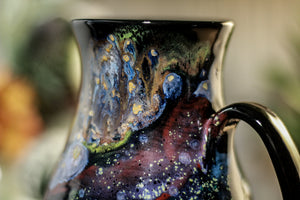 42-A Cosmic Rainbow Barely Flared Mug, 17 oz.