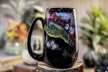 Load image into Gallery viewer, 46-A Cosmic Rainbow Mug, 18 oz.