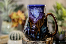 Load image into Gallery viewer, 10-A Starry Night Barely Flared Textured Mug - MISFIT, 17 oz. - 25% off