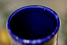 Load image into Gallery viewer, 11-A Starry Night Barely Flared Textured Mug, 22 oz.