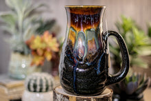 Load image into Gallery viewer, 13-A New Earth Barely Flared Notched Textured Mug, 23 oz.