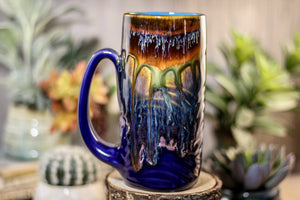 14-A New Earth Textured Mug, 18 oz.