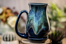 Load image into Gallery viewer, 32-E Boreal Bliss Barely Flared Acorn Mug, 16 oz.