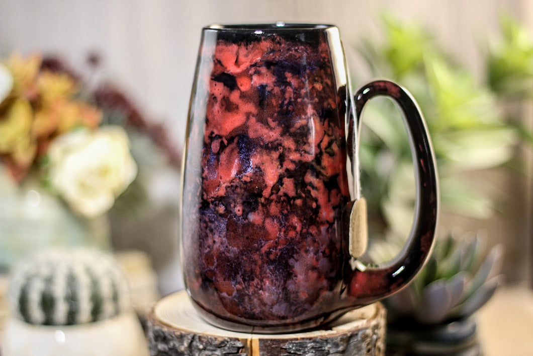 40-B Dragon's Blood Agate Notched Mug - ODDBALL, 19 oz. - 10% off