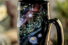 Load image into Gallery viewer, 44-A Cosmic Rainbow Stein Mug, 17 oz.