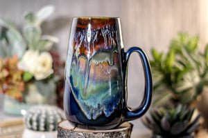 01-A  New Earth Mug - TOP SHELF, 25 oz.