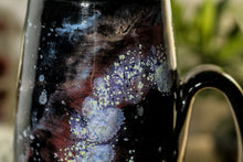 Load image into Gallery viewer, 45-A Cosmic Rainbow Notched Mug, 22 oz.