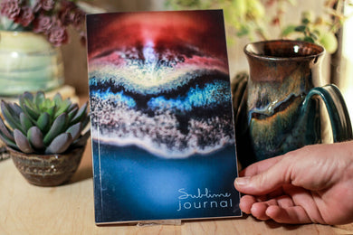 51 Sublime Journal (Electric Falls Close-up)