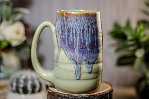 23-D Arctic Wave Textured Stein Mug, 16 oz.