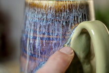 Load image into Gallery viewer, 23-D Arctic Wave Textured Stein Mug, 16 oz.