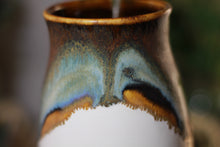 Load image into Gallery viewer, 05-B Copper Agate Barely Flared Notched Mug - ODDBALL, 15 oz. - 10% off