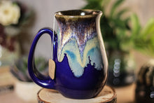 Load image into Gallery viewer, 12-D Electric Wave Barely Flared Notched Mug - MISFIT, 14 oz - 10% off