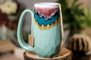 24-C Sonora Snow Notched Mug, 12 oz.
