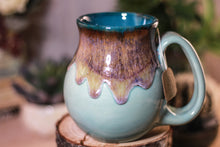 Load image into Gallery viewer, 26-E Arctic Wave Barely Flared Notched Mug, 15 oz.