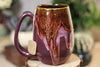 32-D Cosmic Cavern Notched Mug, 14 oz.