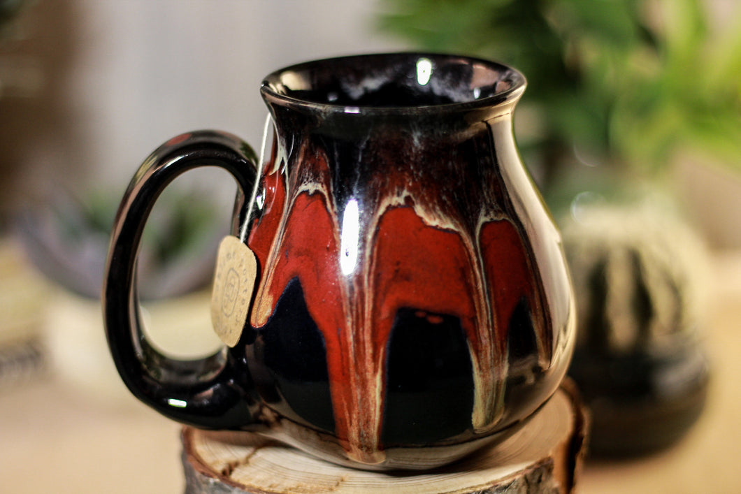 35-E Molten Cavern Barely Flared Notched Mug - MISFIT, 14 oz. - 10% off