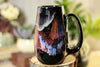44-A Rainbow Stellar Notched Mug, 14 oz