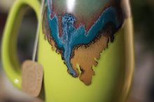 Load image into Gallery viewer, 01-B Blue Lagoon Notched Mug - ODDBALL, 12 oz. - 15% off