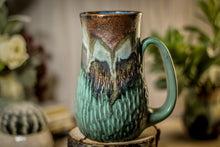 Load image into Gallery viewer, 23-B Copper Agate Textured Mug, 18 oz.