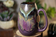Load image into Gallery viewer, 17-B Copper Agate Notched Mug, 16 oz.