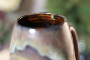 17-B Copper Agate Notched Mug, 16 oz.