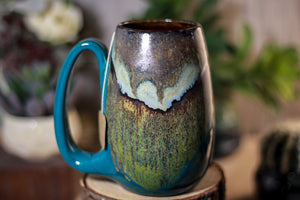 18-B Copper Agate Notched Mug - ODDBALL, 18 oz. - 15% off
