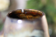 Load image into Gallery viewer, 18-B Copper Agate Notched Mug - ODDBALL, 18 oz. - 15% off