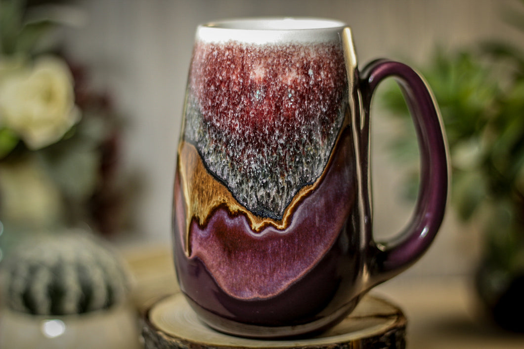 31-C Sonora Snow Variation Mug, 18 oz.