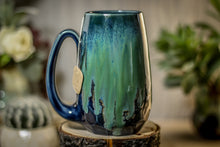 Load image into Gallery viewer, 34-E Boreal Bliss Notched Crystal Mug - ODDBALL, 16 oz. - 10% off